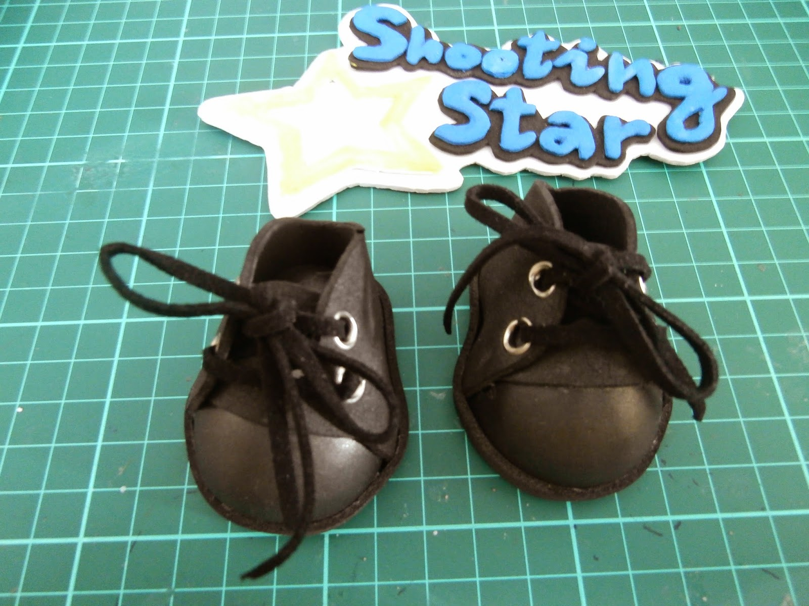 DIY zapatos foamy