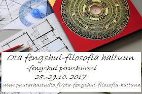 Fengshui viikonloppukurssi Helsingissä
