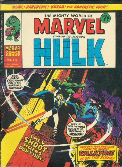 Mighty World of Marvel #112, The Valkyrie