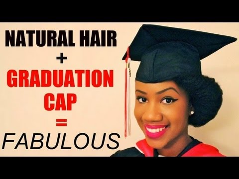 natural hairstyles with marley hair : Island Essence: Natural Hair is good enough for graduation!