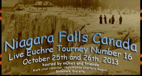 Niagara Falls Euchre Tourney