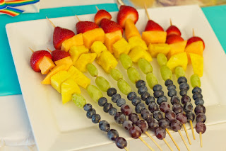 Rainbow Fruit Pops