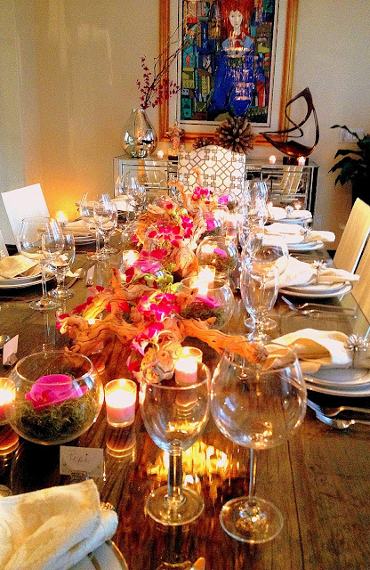 The cuban in my coffee chic and easy dinner party decor - Table setting for a party ...