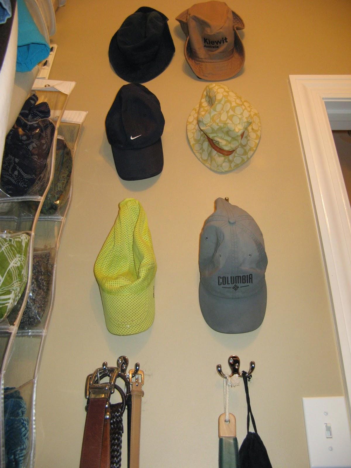 14 Closet Organizing Tips - HOOKS