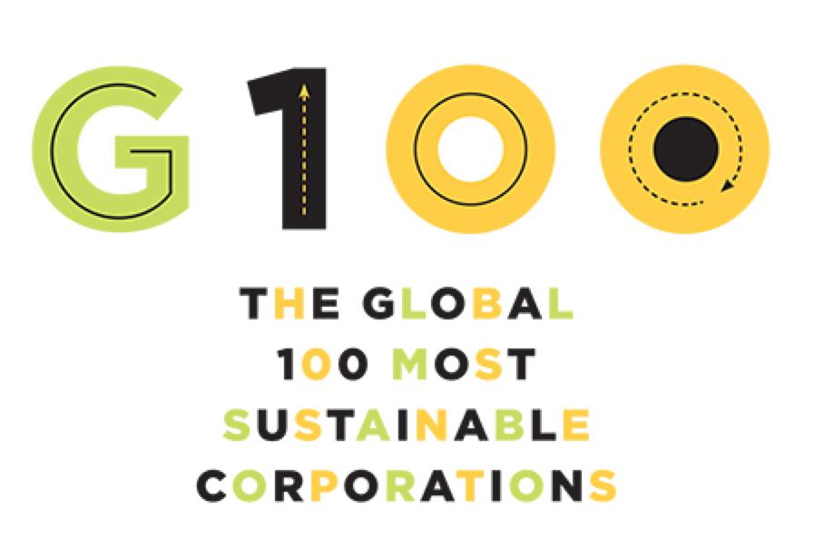 100 nachhaltigste Unternehmen der Welt