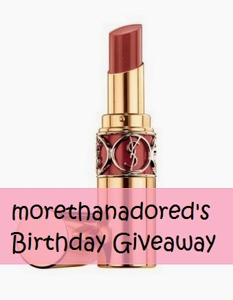 morethanadored's birthday giveaway