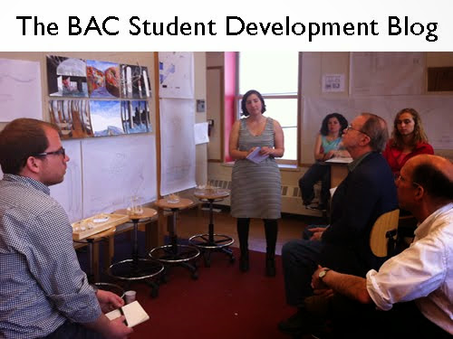 THE BAC STUDENT DEVELOPMENT BLOG