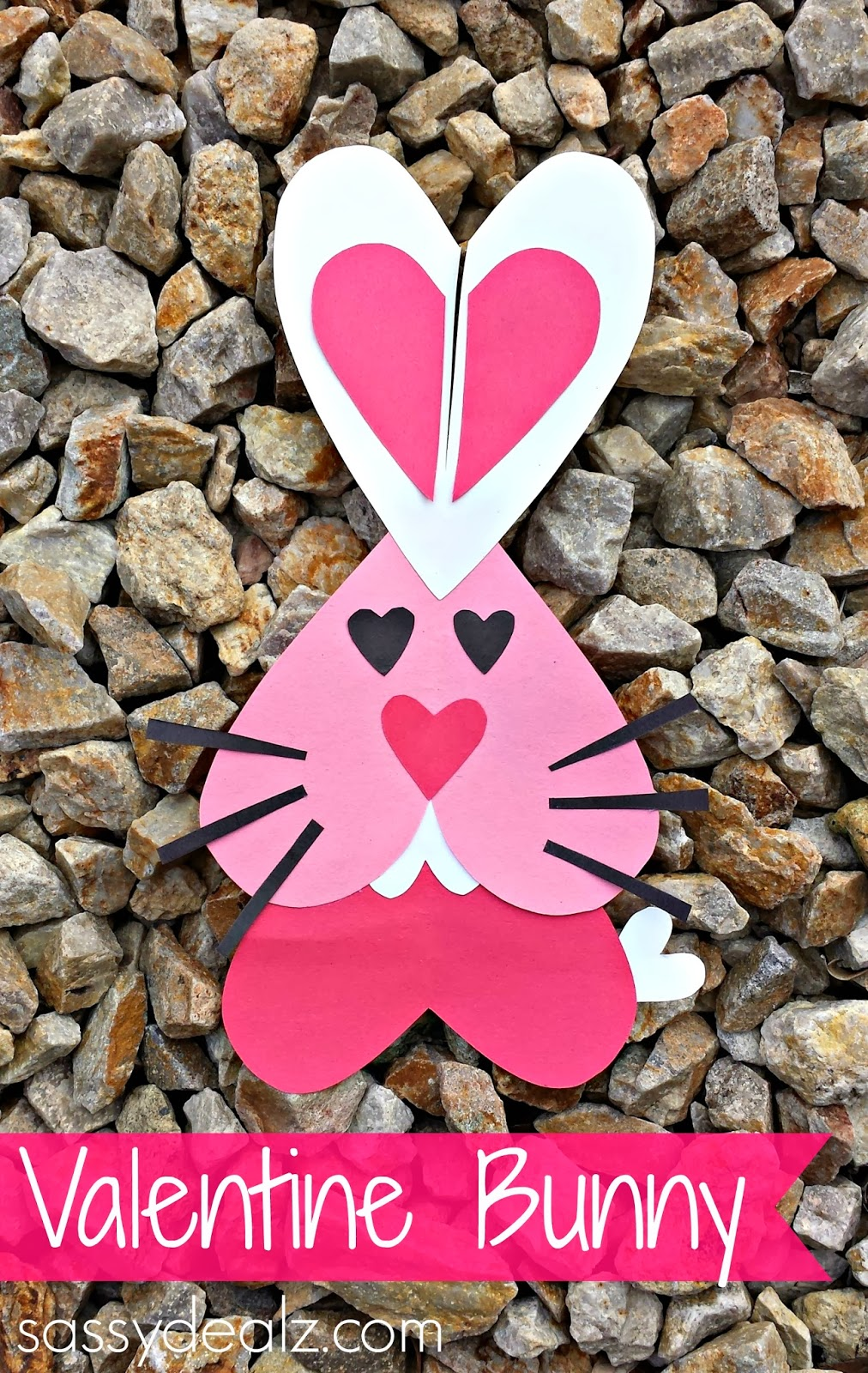Valentines Day Bunny Craft For Kids