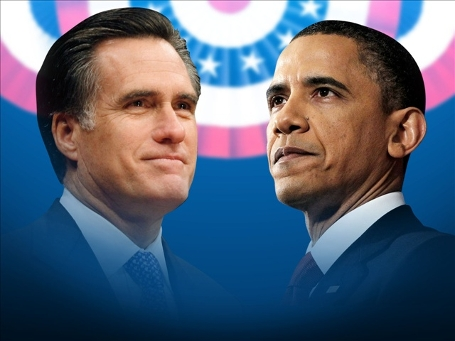essay about obama and romney