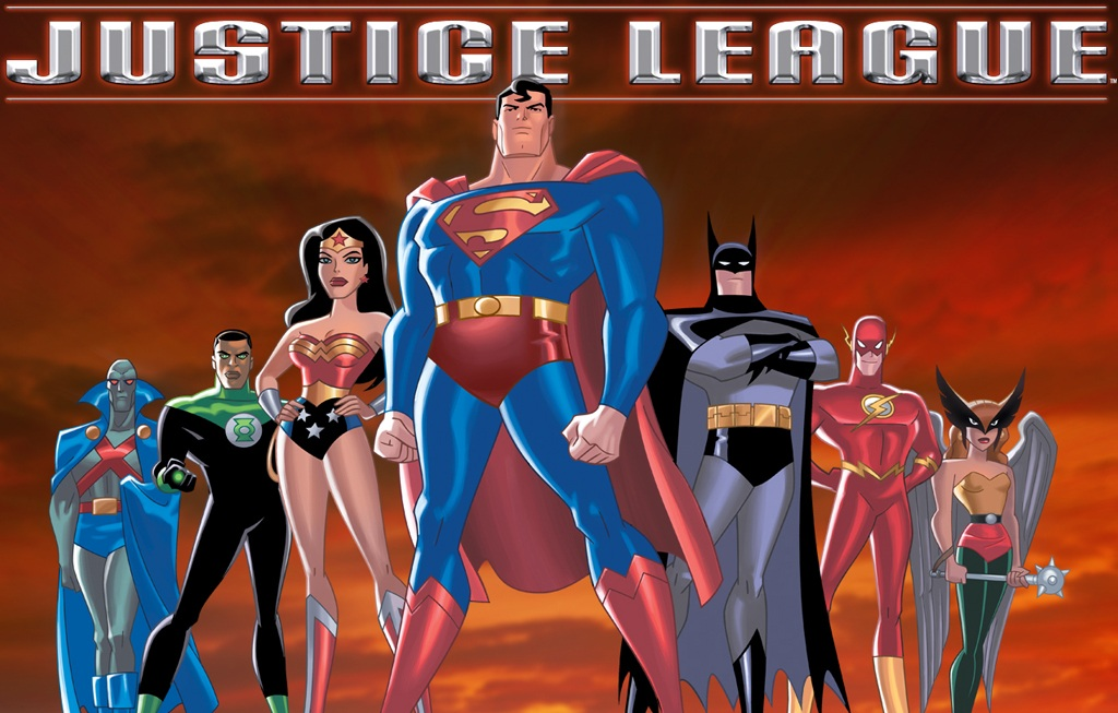 Cartoon Characters Justice League : The justice league my cast