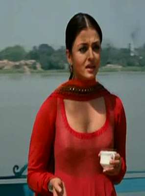 Actress Aishwarya Rai Hot Nipple Show Photos ~ Cinindya