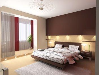 Dormitorios en color marr n chocolate colores en casa - Colores paredes dormitorio ...