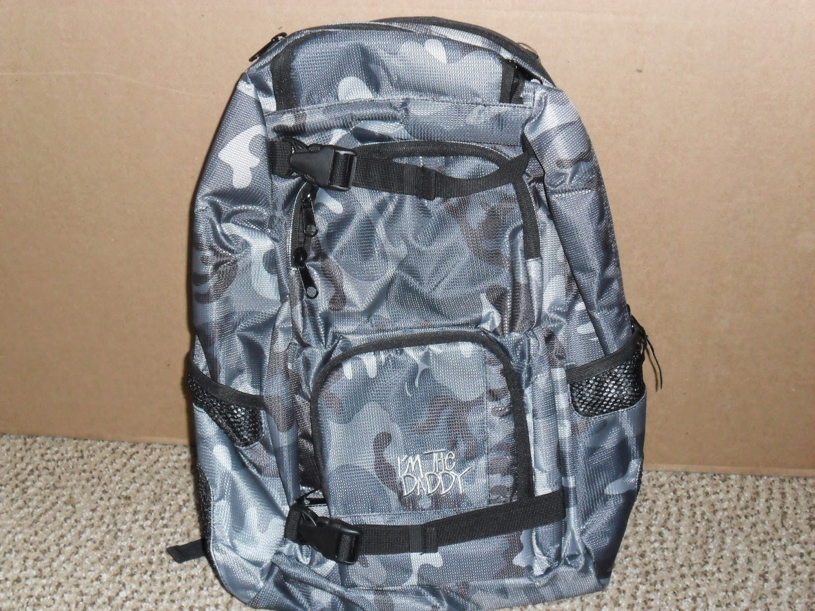 Daddy Scrub's diaper backpack. Review  (Blu me away or Pink of me Event)