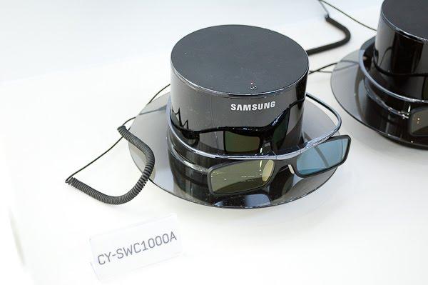 samsung tv accessories. samsung cy-swc1000a : 3d glass wireless charging hub tv accessories