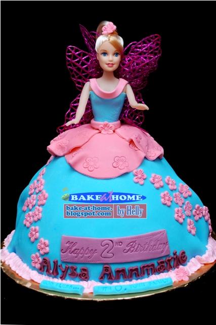 Doll Pick Cake Decoration