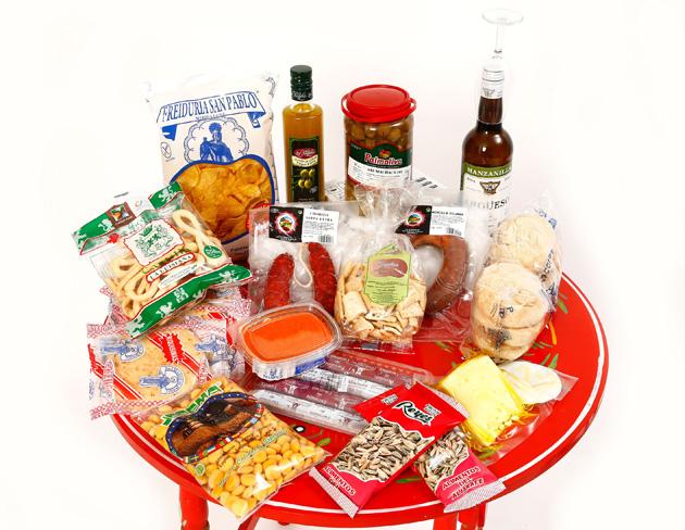 Sorteo lote productos de Andalucía