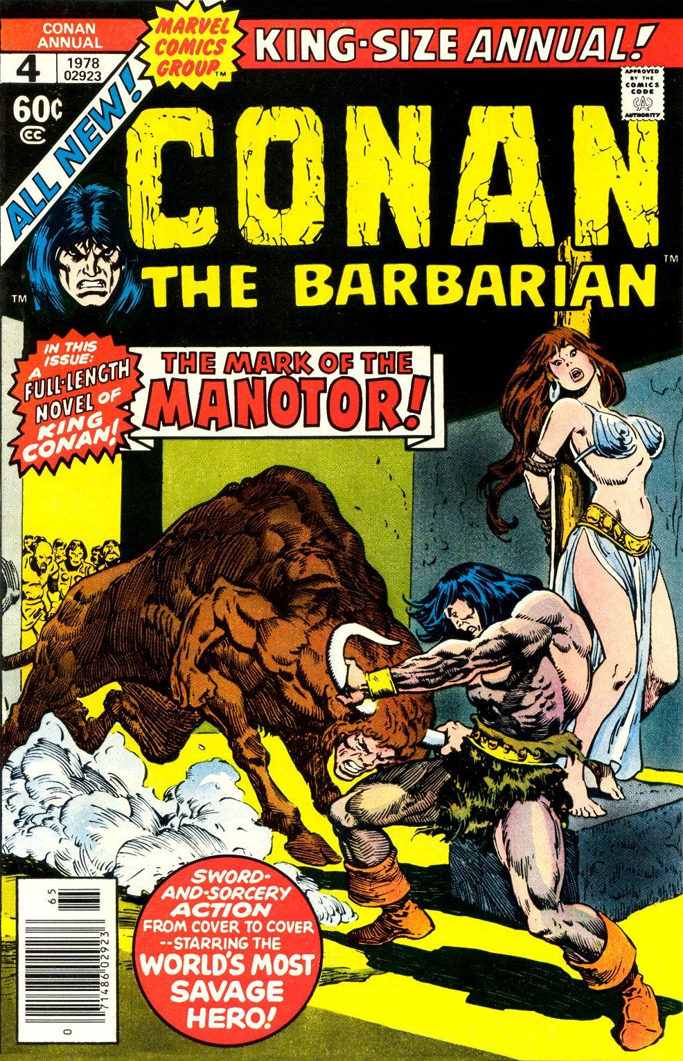 Conan the Barbarian (1970) Annual_4 Page 1