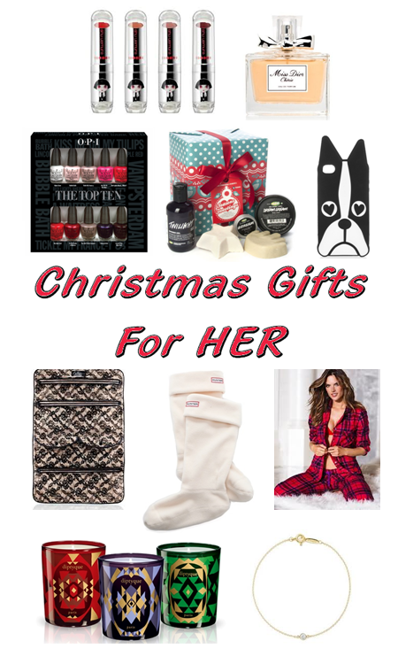 Xmas Gifts For Her This is my Christmas Wishlist