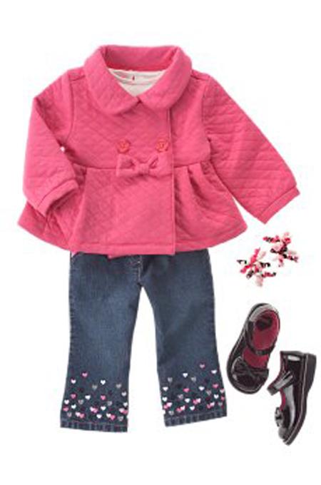 ملابس كاملة للبنات الاطفال الصغار كاملة