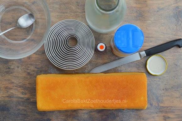 Snel oranje koeken maken