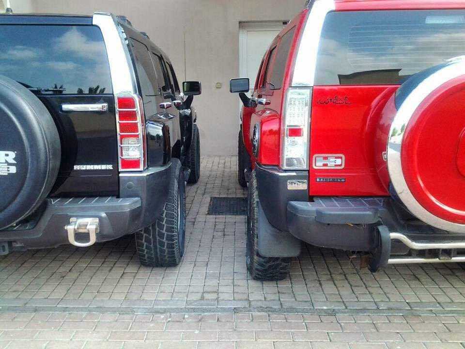 Twin Hummer H2