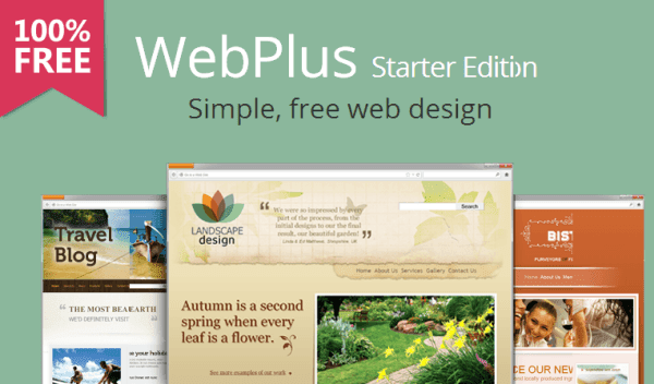 WebPlus Starter Edition