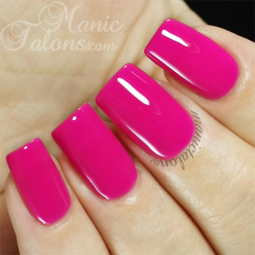 IBD Just Gel Polish Retro Rosette Swatch