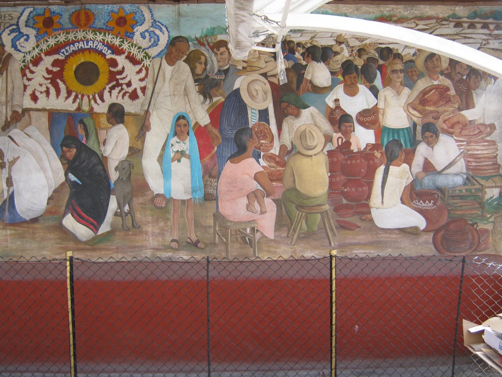 Autobiograf a de tlaltenango su historia contada por un mural for Caracteristicas de un mural