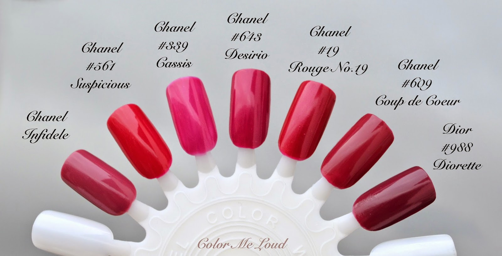 Chanel Le Vernis 641 Tenderly 643 Desirio And 645 Paradisio For R 234 Verie Parisienne Spring
