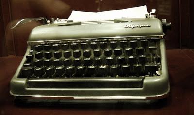 Máquina de escribir perteneciente a Alejandra Pizarnik