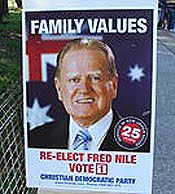 Endorsement from Hon Rev Fred Nile MLC