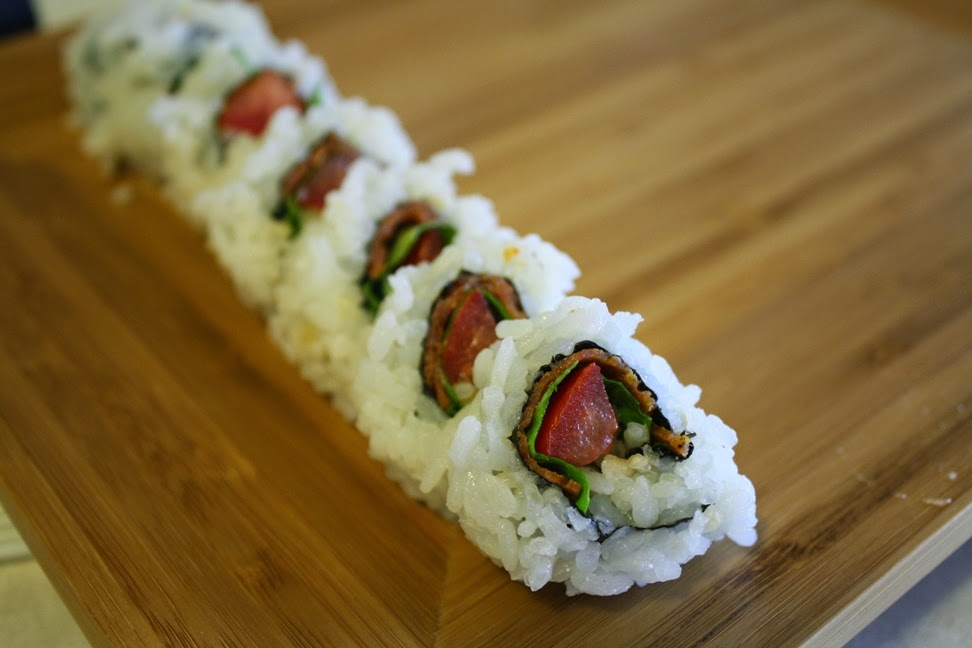 South of the border roll : jalapenos (de-veined and de-seeded), cream ...