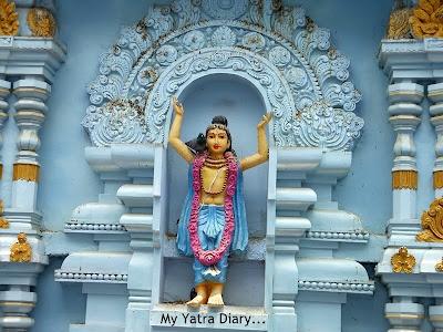 ISKCON Tirupati Temple carving, Andhra Pradesh