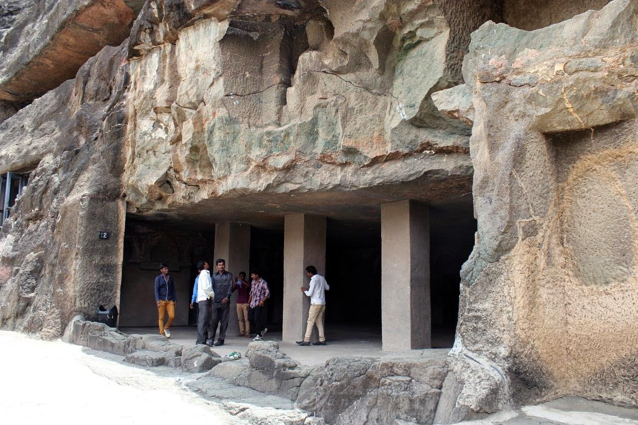 Cave 12 entrance