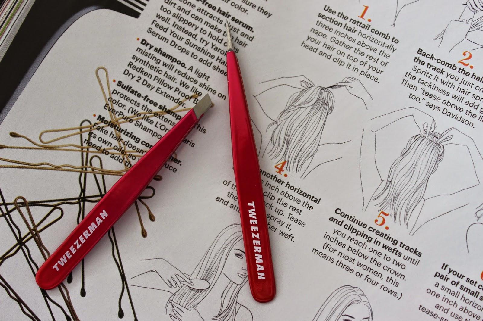 lamour josie tweezerman pink perfection sephora tweezer set review