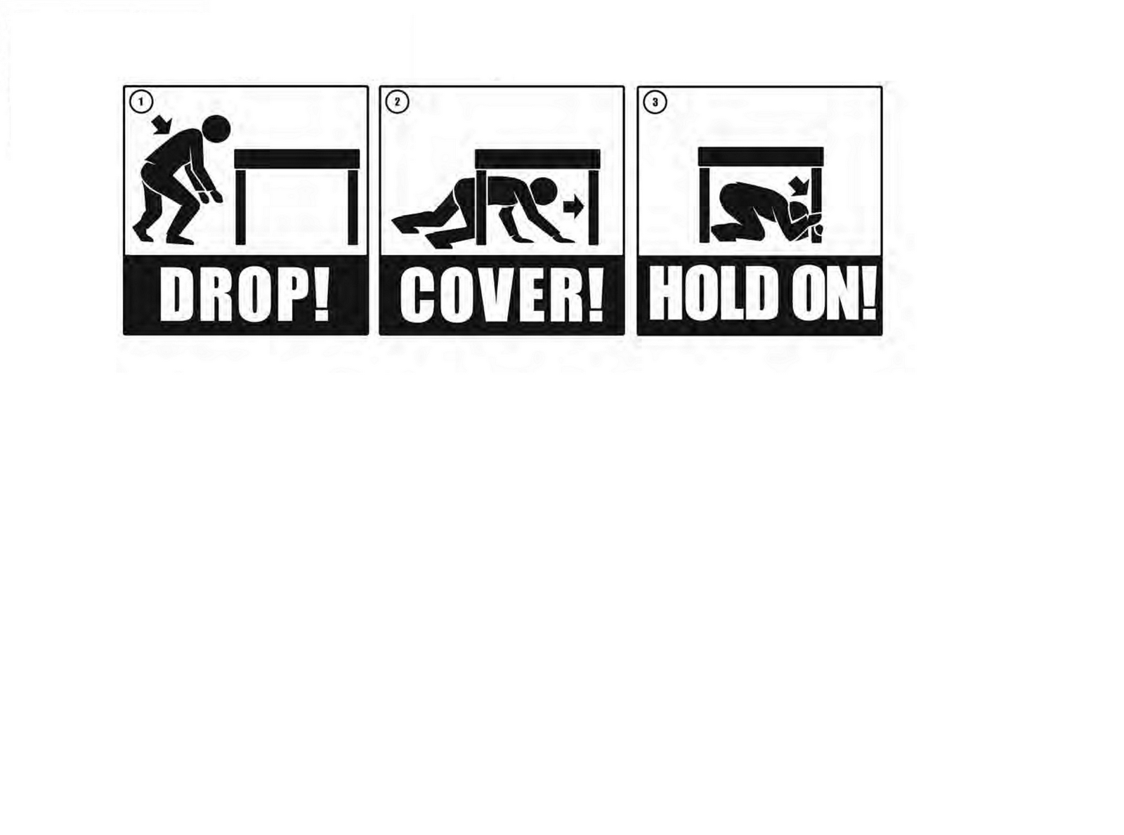 Great ShakeOut Earthquake Drills - ShakeOut Graphics