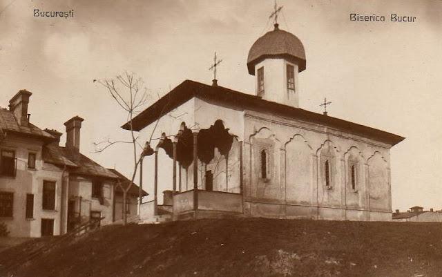 Biserica Bucur din vechiul Bucuresti