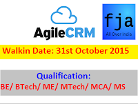 Agile-CRM-walkin-hyderabad