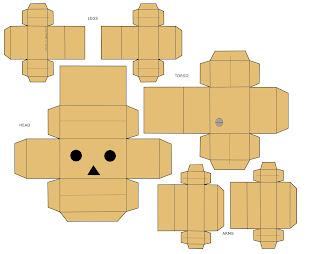 cara membuat boneka danbo :