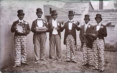 blackface minstrelsy Blackface minstrelsy cotton and chick watts blackface minstrel show celebration, derisive playing the race card whites masquerading as blacks performed songs, dances, and dialect inspired by the blacks on southern plantations outlandish stereotypes and offensive dialect.