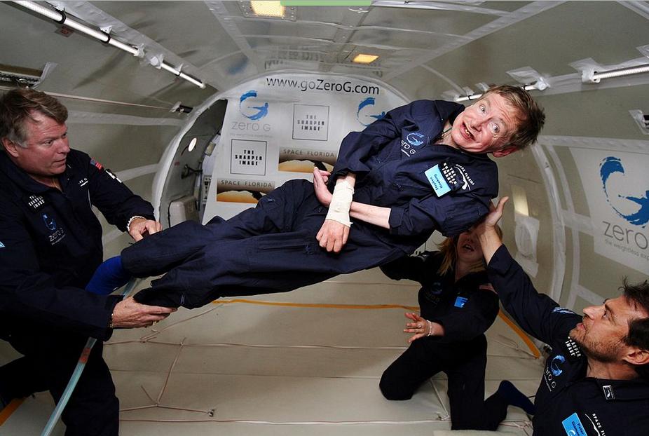 Stephen Hawking Zitate beim Familienfunk