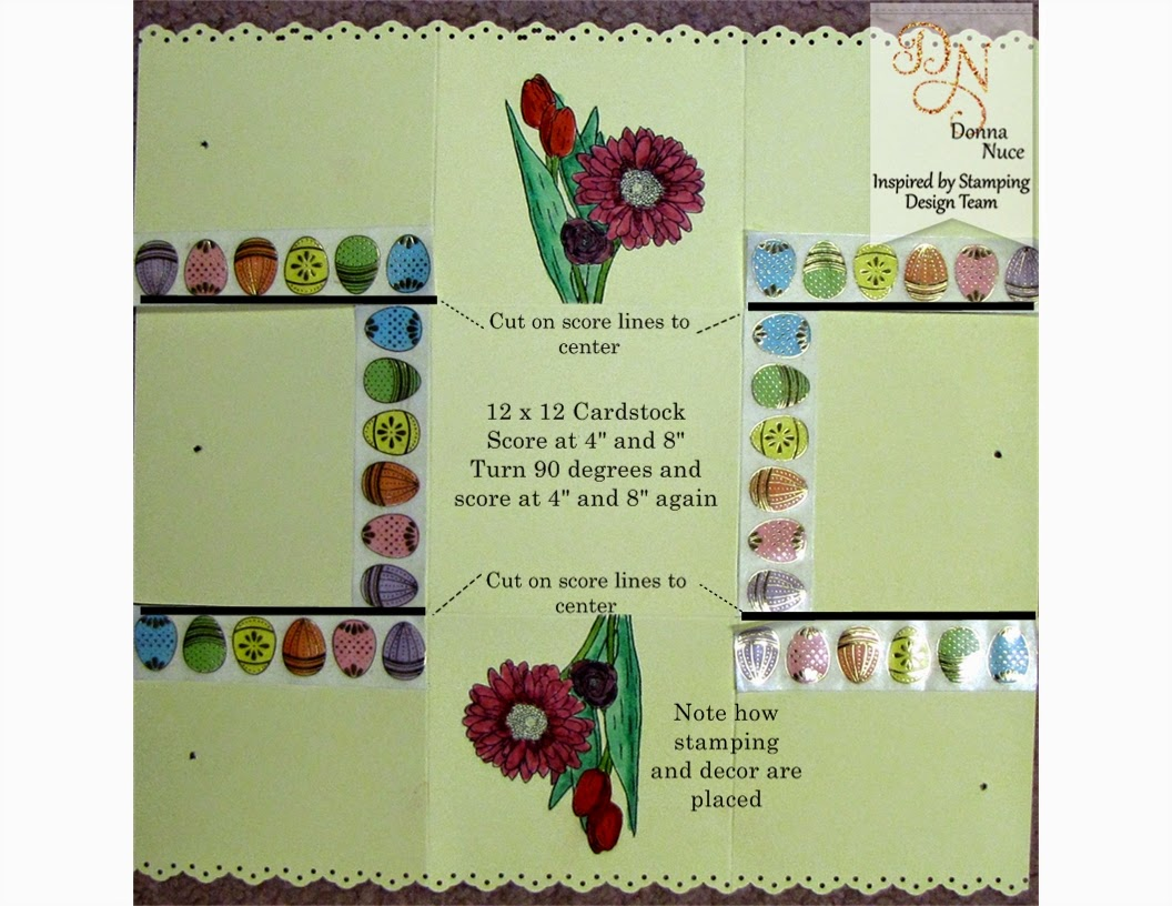 Inspired by Stamping, Crafty Colonel, Spring Bouquet, 3D Easter Basket tutorial