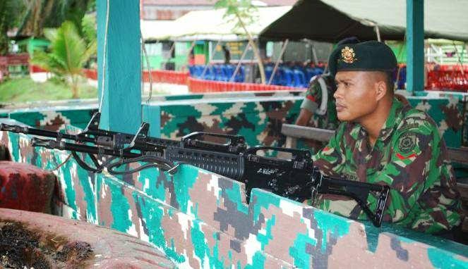 Pos TNI Diserang Di Papua, 3 Anggota Tertembak