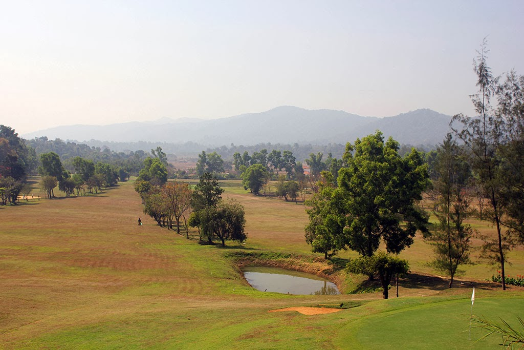 Golf course in India