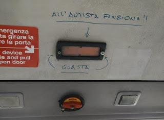 Avvisi ai viaggiatori sugli autobus - Atac