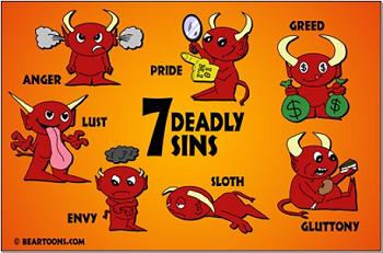 The Seven Sins - Ketujuh Dosa
