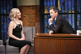 Jennifer Lawrence – 'Late Night With Seth Meyers'