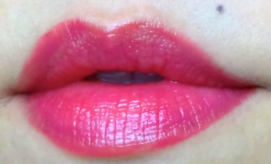 Lancome Shine Lover Fuchsia In Paris swatch