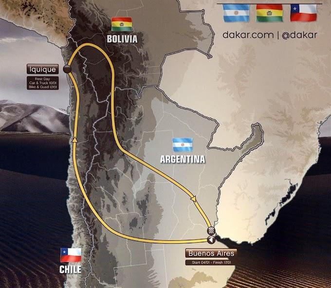 El Rally Dakar 2015 largará y terminará en Buenos Aires