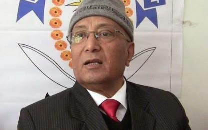 Bharatiya Gorkha Parisangh executive President Rev Dr. Enos Das Pradhan